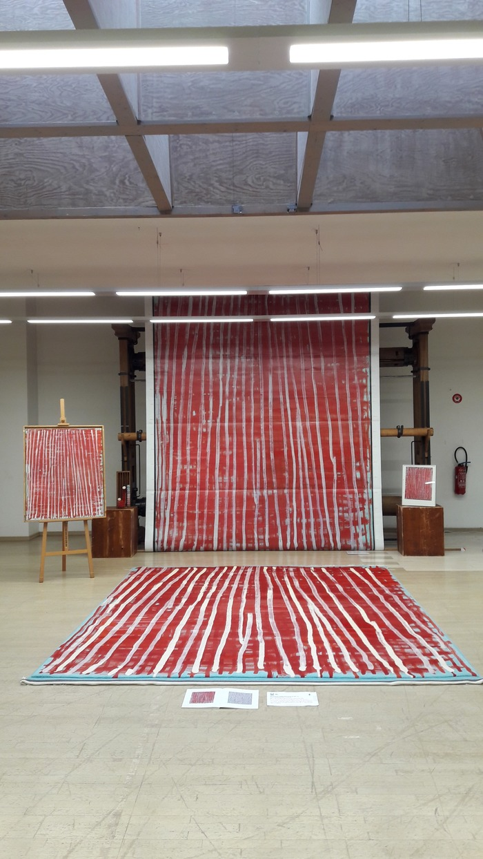 Journées du patrimoine 2018 - Visite de l'atelier de tissage