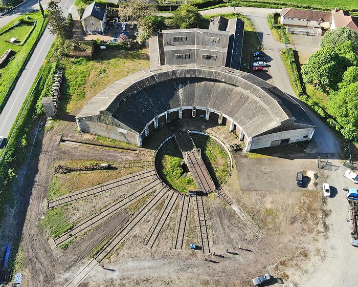 Journées du patrimoine 2018 - Visite de la rotonde ferroviaire de Montabon Château du Loir