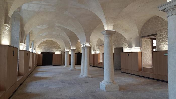Journées du patrimoine 2018 - Visite de la salle capitulaire de l'Abbaye de Saint-Maixent l'École