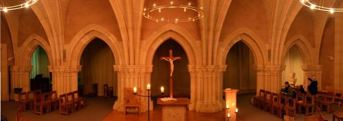 Journées du patrimoine 2018 - Visite de la salle capitulaire du 12e siècle.