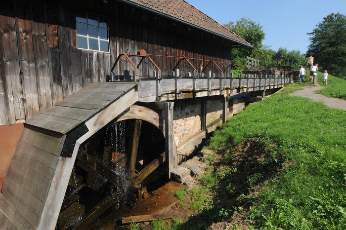 Journées du patrimoine 2018 - Visite de la scierie Haut-fer
