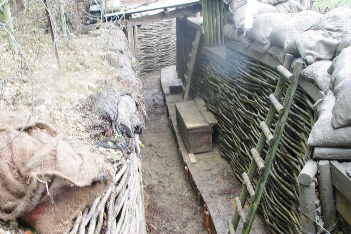 Journées du patrimoine 2018 - Visite de la tranchée reconstituée de 1914-18 à Germaine