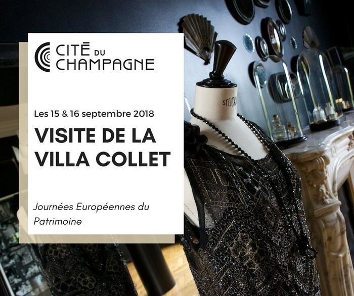 Journées du patrimoine 2018 - Visite de la Villa Collet