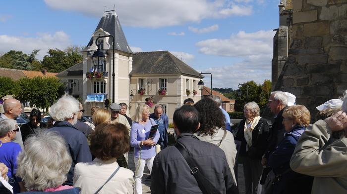 Journées du patrimoine 2018 - Visite de la ville de Longpont