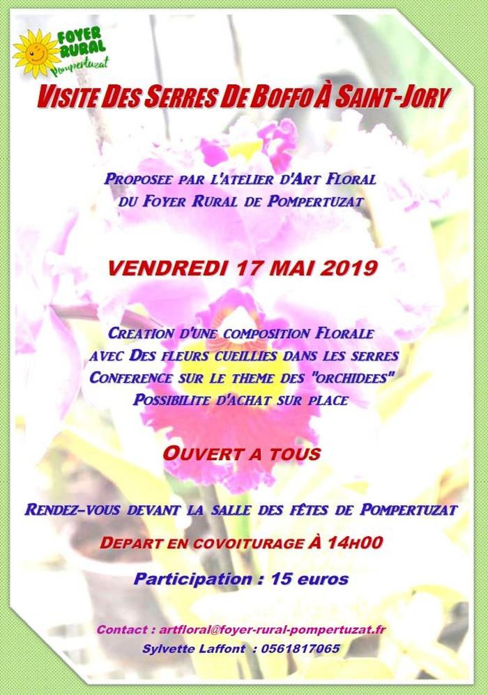 Visite des serres de Boffo à Saint-Jory (17 mai 2019)