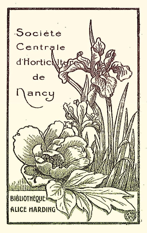 Journées du patrimoine 2018 - Visite découverte de la bibliothèque de la Société Centrale d'horticulture de Nancy