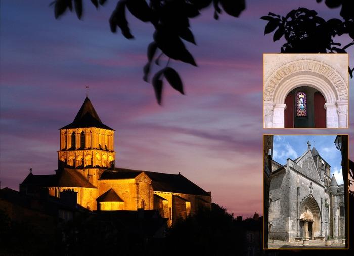 Journées du patrimoine 2018 - Visite guidée et commentée de l'église Notre-Dame et St-Junien de Lusignan, classée aux MH en 1862, et de ses abords