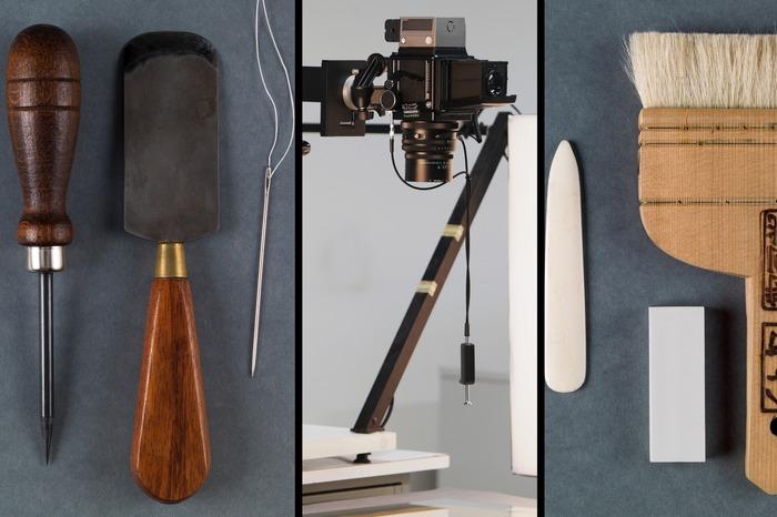Journées du patrimoine 2018 - Visite des ateliers techniques des Archives du Doubs