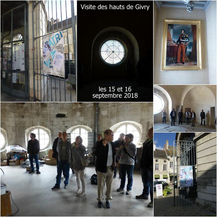 Journées du patrimoine 2018 - Visite des hauts de Givry