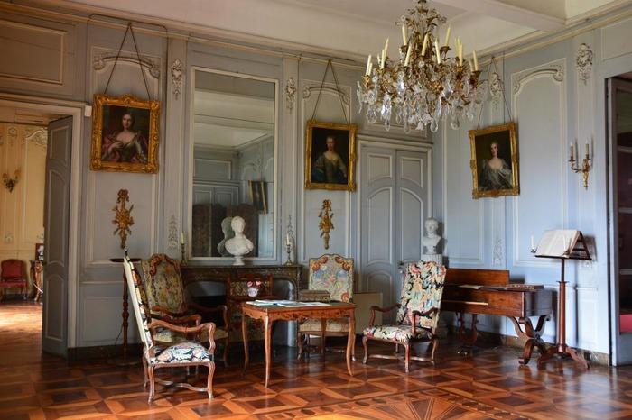 Journées du patrimoine 2018 - Découverte des intérieurs du château du Touvet.