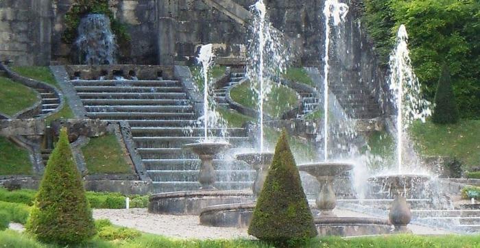 Journées du patrimoine 2018 - Visite des jardins du château du Touvet.