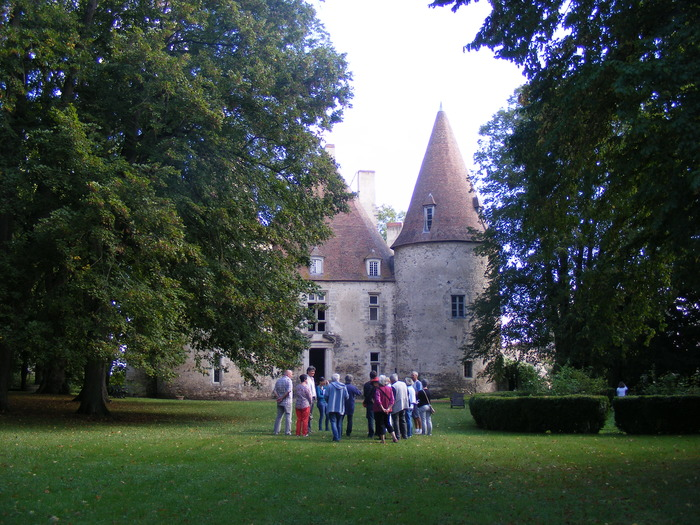 Journées du patrimoine 2018 - Visite des jardins et salons du château