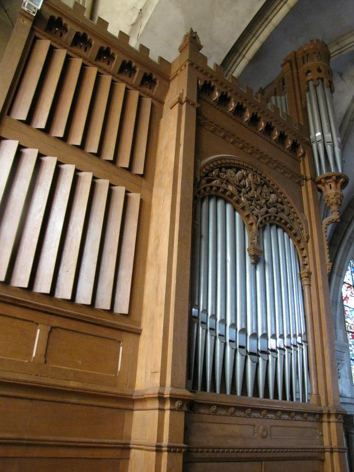 Journées du patrimoine 2018 - Visite guidée des orgues et du carillon de l'église