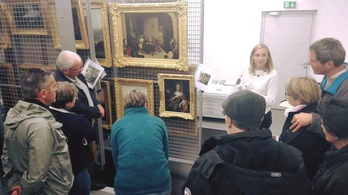 Journées du patrimoine 2018 - Visite des réserves du Musée de la Lunette