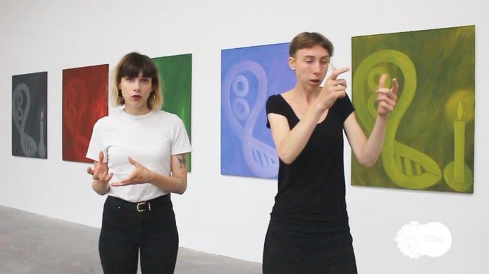 Crédits image : Visite en langue des signes française