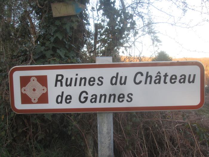 Journées du patrimoine 2018 - Visite guidée des ruines du château de Gannes