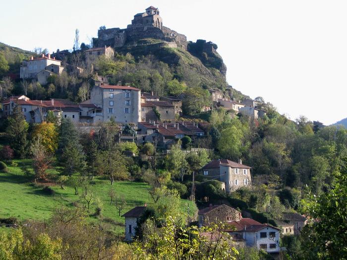 Journées du patrimoine 2017 - Visite des vestiges du château de Saint-Ilpize