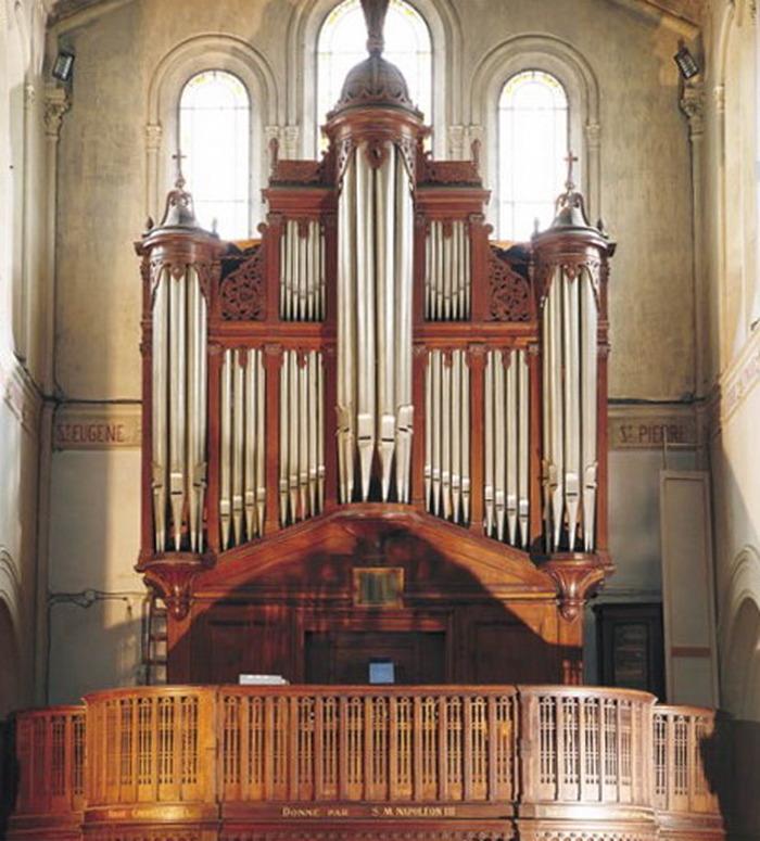 Journées du patrimoine 2017 - Visite commentée du buffet d'orgue Cavaillé-Coll