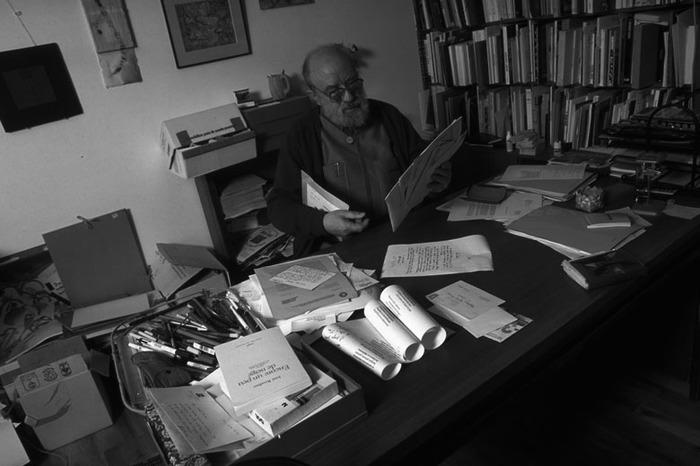 Journées du patrimoine 2018 - Visite du bureau bibliothèque de l'écrivain Michel Butor