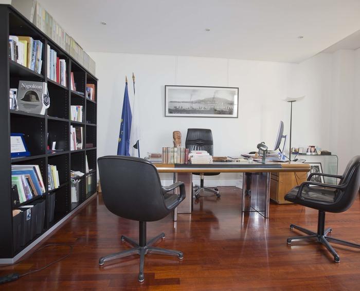 Journées du patrimoine 2017 - Visite du bureau du Président de l'Assemblée de Corse