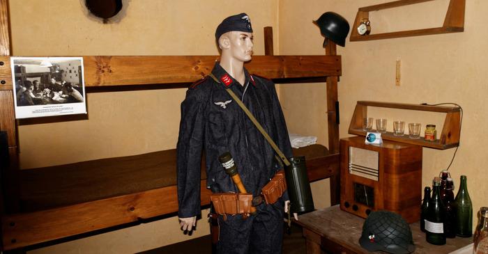 Journées du patrimoine 2018 - Visite libre du central téléphonique allemand de la forteresse du Havre en 1944.