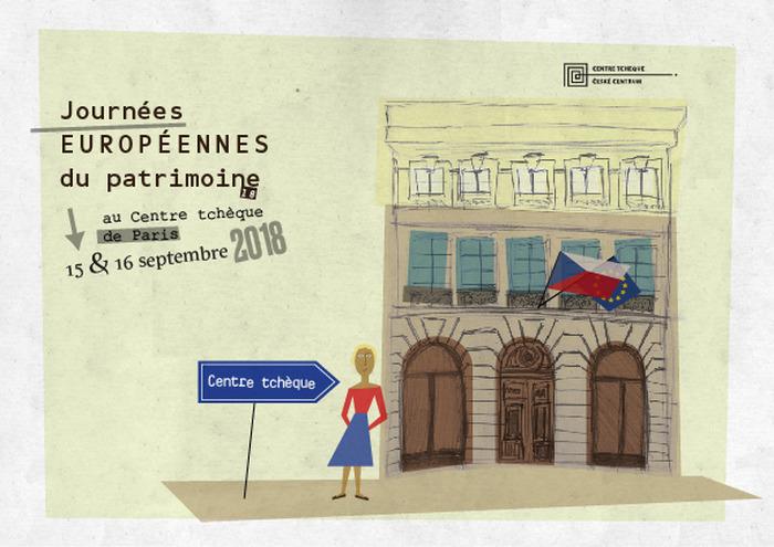 Journées du patrimoine 2018 - Visite du Centre tchèque de Paris et de l'exposition « Le Paris de Sempé et le monde de Šašek »