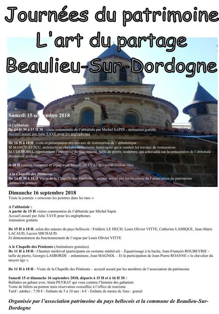 Journées du patrimoine 2018 - Visite du chantier de restauration de l'abatiale Saint-Pierre et concert trompette et orgue