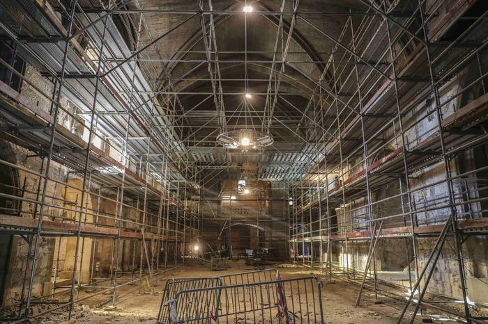 Journées du patrimoine 2018 - Visite libre du chantier de restauration
