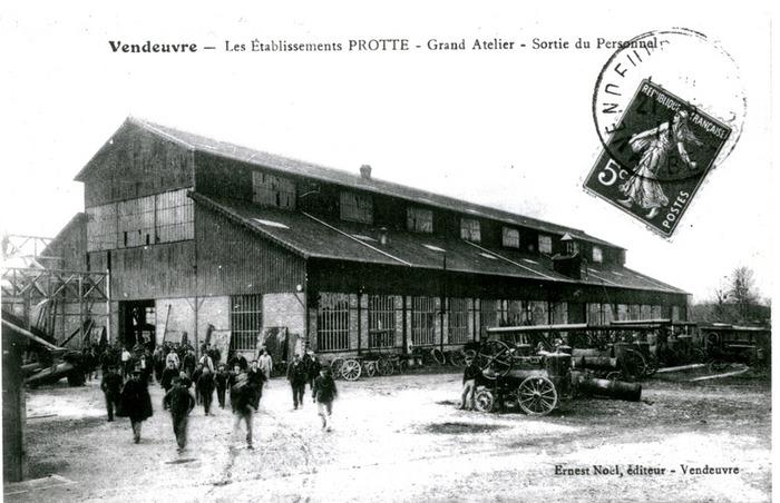 Journées du patrimoine 2018 - Visite du chantier de restauration de l'usine de constructions mécaniques de 1855