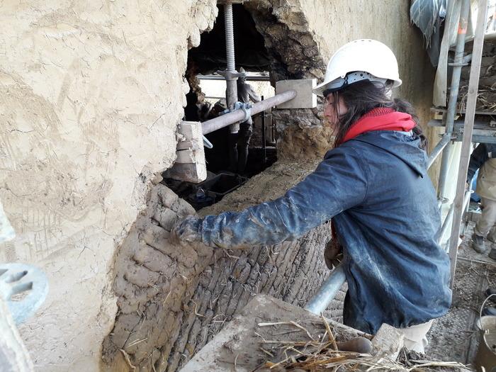 Journées du patrimoine 2018 - Visite du chantier de restauration du Manoir du Boberil, commune de l'Hermitage