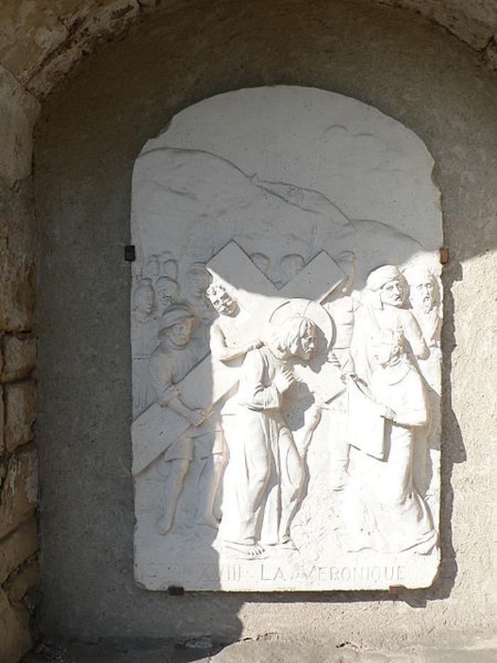 Journées du patrimoine 2018 - Visite commentée du chemin de croix et des bas-reliefs de D. Donzelli.