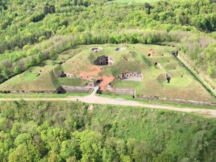 Journées du patrimoine 2018 - Visite du Fort Dorsner de Giromagny