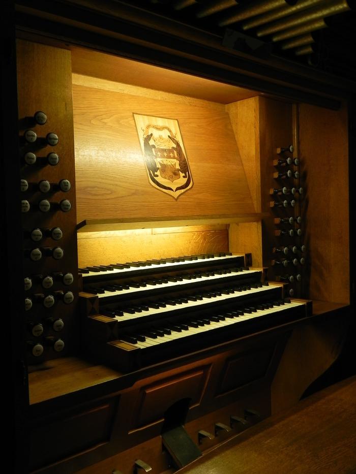 Journées du patrimoine 2017 - visite du grand orgue de la cathédrale de cayenne