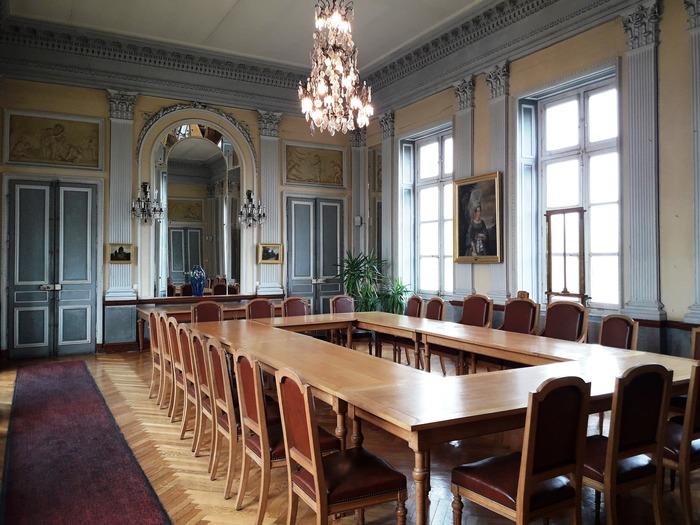 Journées du patrimoine 2018 - Visite guidée du grand salon de l'hôtel de ville