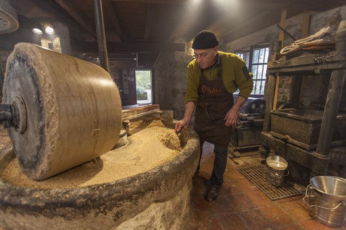 Journées du patrimoine 2018 - Visite du moulin et démonstration.