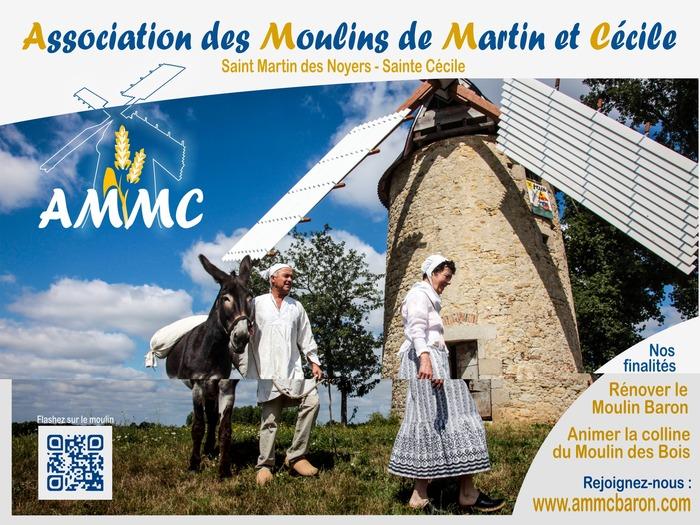 Journées du patrimoine 2017 - Visite du Moulin Baron