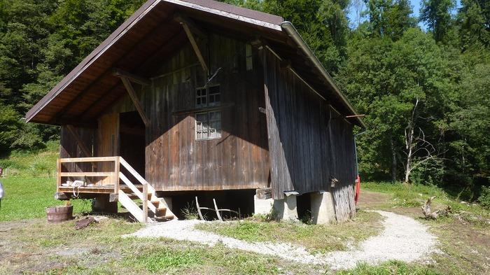 Journées du patrimoine 2018 - Visite commentée du moulin et de la scierie de la Cayere.