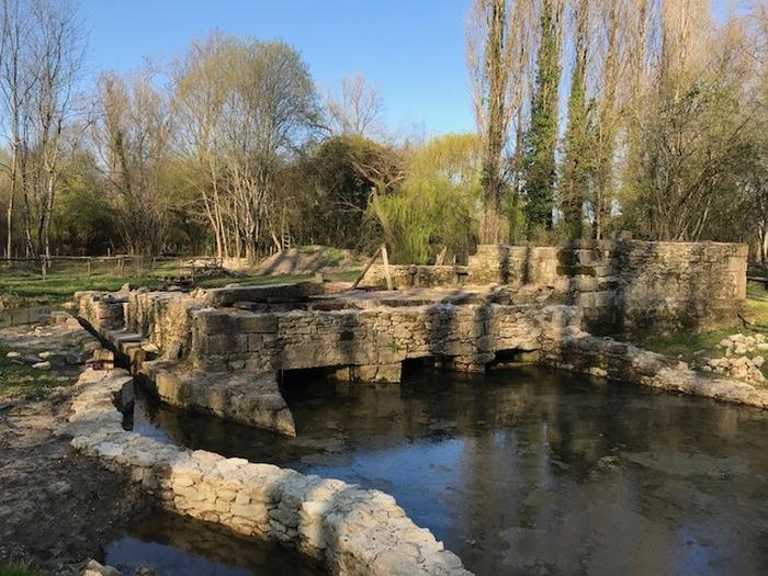 Journées du patrimoine 2018 - Visite du Moulin Neuf à Preignac