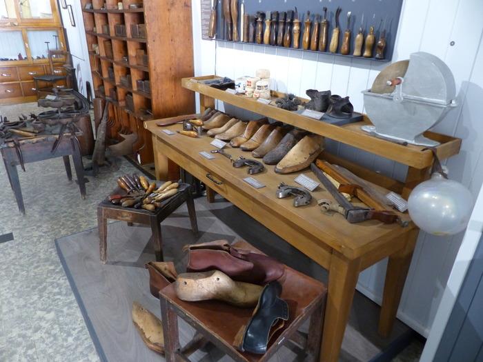 Journées du patrimoine 2018 - Visite libre du musée de la cordonnerie.