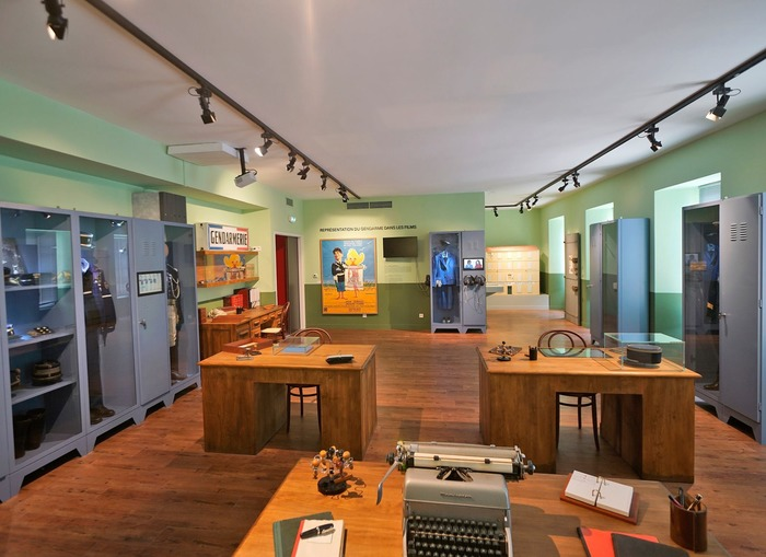 Journées du patrimoine 2018 - Visite du Musée de la gendarmerie et du cinéma de Saint-Tropez et de l'exposition