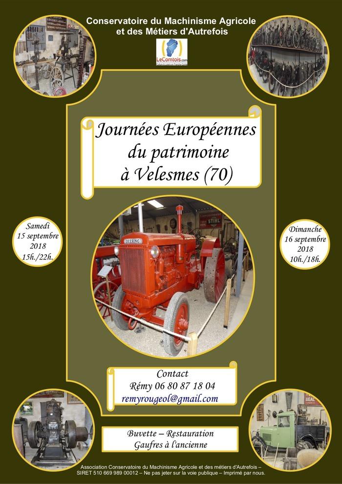 Journées du patrimoine 2018 - Visite du musée lors des Journées Européennes du Patrimoine 2018