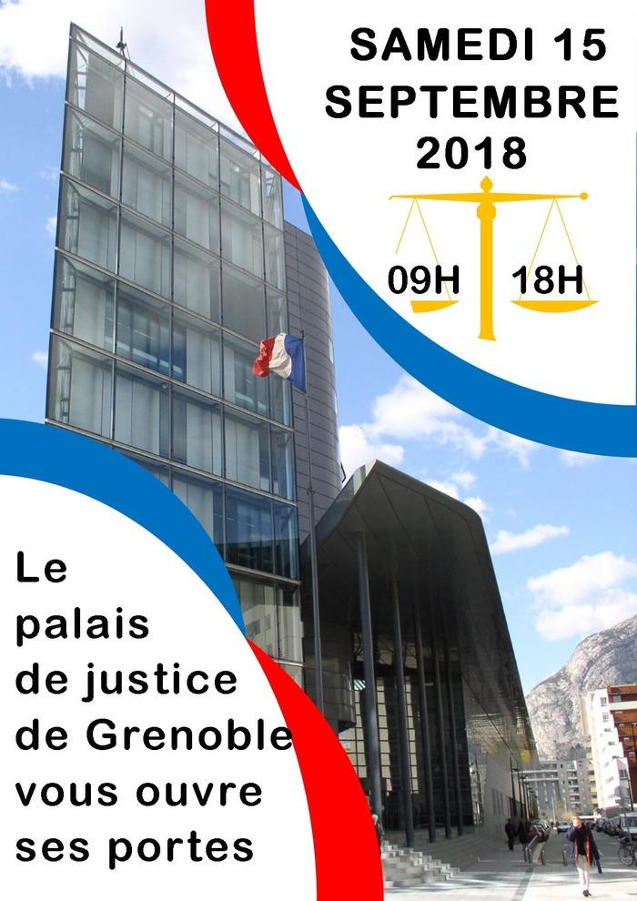 Journées du patrimoine 2018 - Visite du palais de justice de Grenoble