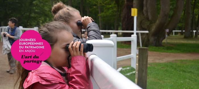Journées du patrimoine 2018 - Visite du Parc départemental de l'Isle-Briand
