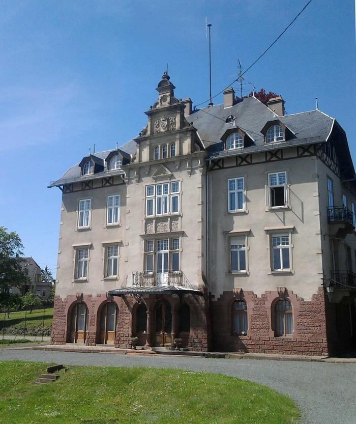 Journées du patrimoine 2018 - Visite du parc et des salons de la Sous-Préfecture de Molsheim