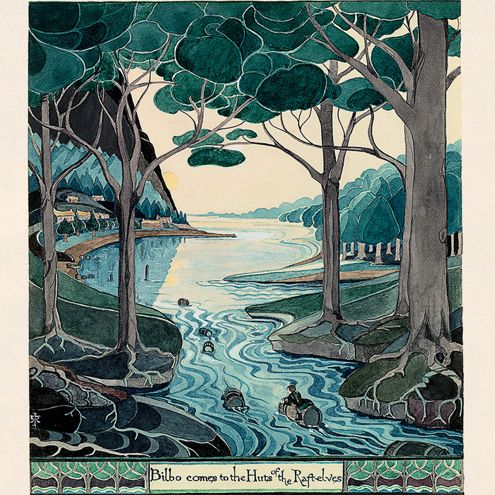 Crédits image : © The Tolkien Estate Limited 1937