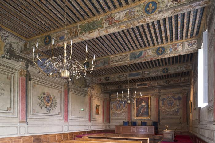 Journées du patrimoine 2018 - Visite commentée du parlement de Dombes.