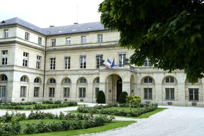Journées du patrimoine 2018 - Visite du Pavillon Boncourt, Hôtel de la ministre de l'Enseignement supérieur, de la Recherche, et de l'Innovation
