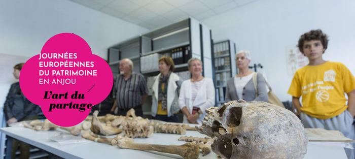 Journées du patrimoine 2018 - Visite du pôle archéologie du Département