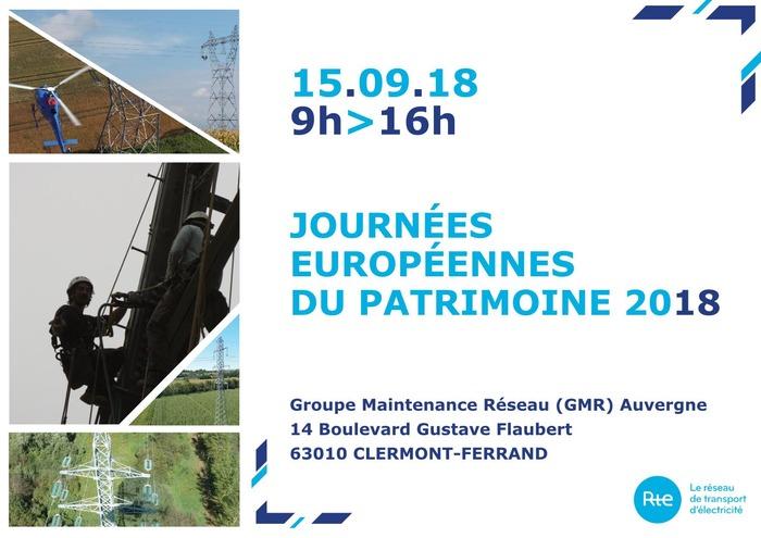 Journées du patrimoine 2018 - RTE, le Réseau de Transport d'Électricité vous ouvre les portes d'un poste électrique.