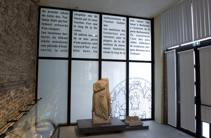 Journées du patrimoine 2018 - Visite du rempart gallo-romain